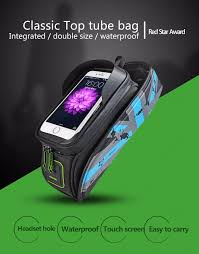 waterproof cycling top 2017 rockbros mtb road bicycle bike bags touch screen cycling top