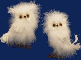 these were to not post white fluffy feathered