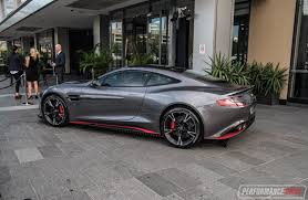 aston martin inside 2017 aston martin vanquish s makes australian debut in sydney