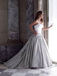 silver wedding dress white and silver wedding dresses luxury brides