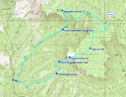 Virginia Creeper Trail Map by Horton Super Loop Plus U2022 Hiking U2022 Arizona U2022 Hikearizona Com