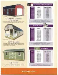 12x24 cabin floor plans midwest storage barns u2013 carter u0027s trailer sales