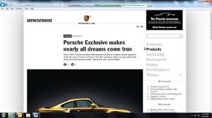 porsche exclusive options documentation rennlist porsche