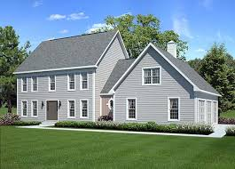 colonial farmhouse plans colonial country traditional house plan 24966 cool stuff