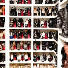 Shelves For Shoes by Shelves For Shoes Contemporary Closet Instyle Magazine