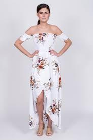 floral maxi dress smocked floral maxi dress shoulder maxi dress mod soul