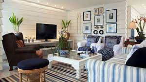 Beach Home Interior Design by Colorful And Beautiful Beach Cottage Interiors Youtube