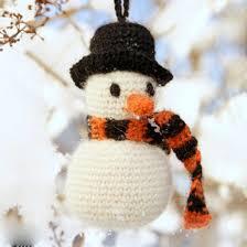 easy crochet snowman free pattern crochet snowman easy crochet