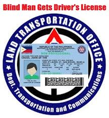 Legally Blind Driving Thoughts To Promote Positive Action Blind Man Gets Driver U0027s