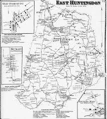 Pennsylvania City Map by Westmoreland County Pennsylvania Atlas 1867