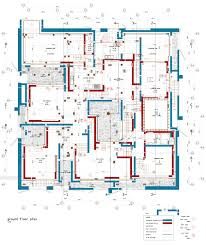 The Interlace Floor Plan De Vylder Vinck Taillieu Ordos House Of Seven Houses Square