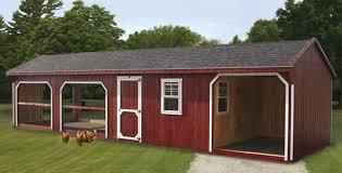 Building Backyard Chicken Coop Backyard Chicken Coop Horizon Structures