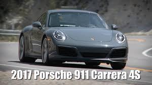 porsche carrera 911 4s 2017 porsche 911 carrera 4s youtube