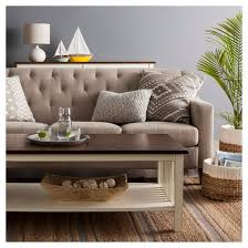 Target Threshold Tufted Bench Felton Tufted Sofa Threshold Target
