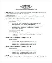 resume exles pdf sle of management resume find out what skills are the most