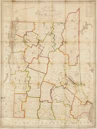 Robinson Map Unrecorded State Of Lewis Robinson U0027s First Map With Interesting