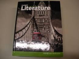 amazon com pearson common core literature the british tradition