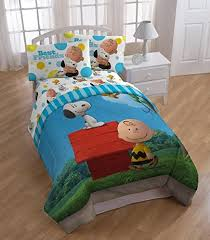 Snoopy Bed Set The Peanuts Snoopy Brown Best Friends