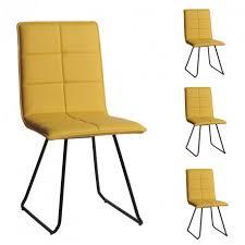 chaises jaunes quatuor de chaises jaunes osiris univers des assises