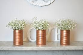 Tin Vases Copper Jar U0026 Tin Vases Diy Post Bang On Style