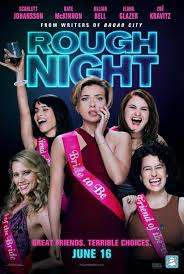 click to view extra large poster image for rough night movie