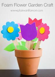 Garden Crafts For Children - 85 best flower garden kids crafts images on pinterest spring