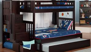 Kids Bunk Beds With Desk Bed Bunk Beds With Steps Style Alcor Twin Over Twin Bunk With