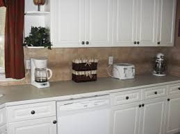 backsplash with white kitchen cabinets antique backsplash for white kitchen all home decorations