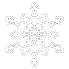 free a half dozen snowflakes to color from don u0027t eat the paste