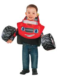 toddler boy costumes blaze and the machines costume for toddlers