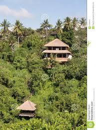 tropical beach house bali indonesia stock photo image 57390813