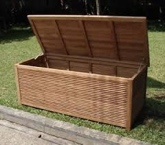 Patio Cushion Storage Bin by A Grade Teak 65
