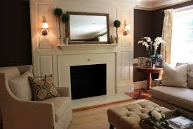 fireplace divine ideas for home interior decoration using red