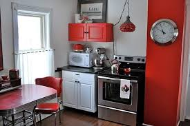 Red Kitchen Countertop - country red kitchen colors tags red kitchen colors brown kitchen