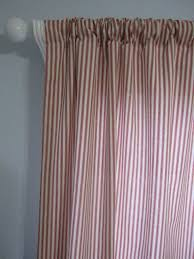Etsy Drapes 140 Best Ticking Stripe Curtains And Drapes Images On Pinterest
