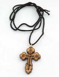orthodox jewelry religious amulets eastern cross pendant in olive wood amulets