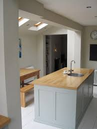 galley kitchen extension ideas a kitchen extension and a loft conversion projects mccurdy
