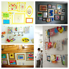 make a children u0027s art gallery creative party themes and ideas