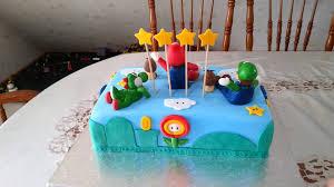 mario birthday cake mario torte fondant torte birthday cake nintendo