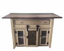 primitive kitchen island kitchen islands carts tables portable lighting ebay