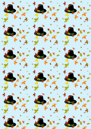 free thanksgiving paper scrapbook paper thanksgiving hat rooftop post printables