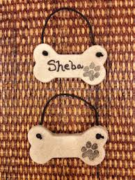 personalized salt dough ornament nyc shiba rescue
