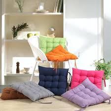 Square Bistro Chair Cushions Square Chair Cushions Soft Square Cotton Seat Cushion Home Sofa