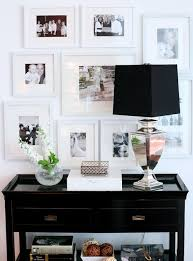 Black Console Table With Storage Inspiration Of Black Hall Console Table With Narrow Black Console