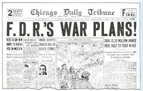 Chicago Tribune News Desk Rainbow 5 Roosevelt U0027s Secret Pre Pearl Harbor War Plan Exposed