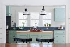 Painted Blue Kitchen Cabinets Kitchen Stencil Ideas Pictures U0026 Tips From Hgtv Hgtv