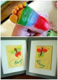 Hand Crafts For Kids To Make - handprint and footprint flowers and vase craft an adorable gift
