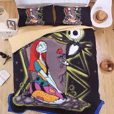 nightmare before christmas bedroom set the nightmare before christmas sheet set 3d printed bedding jack