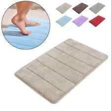 Reversible Cotton Bath Rugs 100 Cotton Bathroom Rugs Slate Gray Thick Plush Reversible