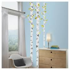 roommates birch trees peel and stick wall decals target
